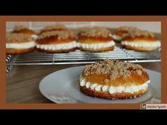 Pražský koláč. Kynutý koláč s pudinkovo - šlehačkovým krémem. - YouTube Muffin, Breakfast, Youtube, Anna, Food, Morning Coffee, Muffins, Cupcake, Youtubers
