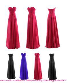 Dresstells Floor-length Bridesmaid Dress Long Prom Dress Evening Gown