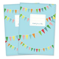 Bunting note book