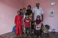 Abdul Rahman and his family stays in a 650 sqf room without furniture. Apart from some clothes donated to them, they came to Malaysia with bare necessities. ― Pictures by Yusof Mat Isa
