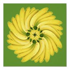 Banana Flower Poster