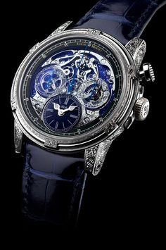 Red Eclipse - Memoris - Limited Editions - Louis Moinet.