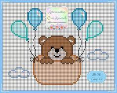 Baby Cross Stitch Patterns, Cross Stitch Charts, Cross Stitch Designs, Mini Cross Stitch, Modern Cross Stitch, Cross Stitch Flowers, Cross Stitching, Cross Stitch Embroidery, Embroidery Patterns