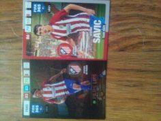 All cards Atlético De Madrid