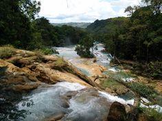 Cascadas de Agua Azul, Chiapas. México