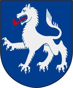 Coat of arms of Säbrå landskommun, now part of Härnösand Municipality, Sweden