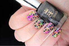 rainbow&black