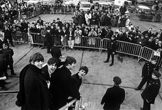 HARRY BENSON Beatles Arrival in New York - 1964