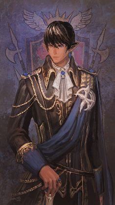 Aymeric as Head of House of Lords by Athena-Erocith.deviantart.com on @DeviantArt