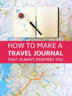How to Make a Travel Journal That Always Inspires You Write Your Memories, Don'. How to Make a Travel Journal That Always Inspires You Write Your Memories, Don't Post Them. Journal Inspiration, Travel Inspiration, Journal Ideas, Best Travel Journals, Travel Crafts, Diy Travel Books, Equador, New Travel, Travel Europe