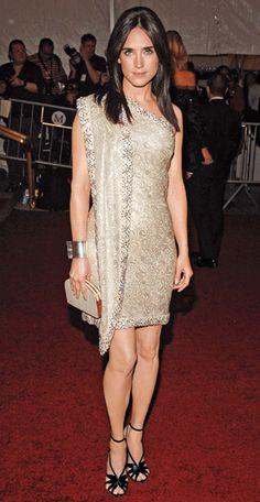 Jennifer Connelly.  Balenciaga.