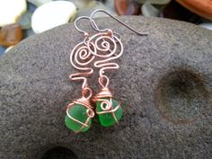 Hey, I found this really awesome Etsy listing at https://www.etsy.com/listing/181385141/emerald-isle-sea-glass-spirals