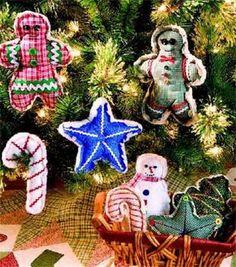 Calico Christmas Ornaments