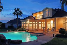 Waterfront home in The Estates of Del Lago  Call Dawn for more info 936-672-1319