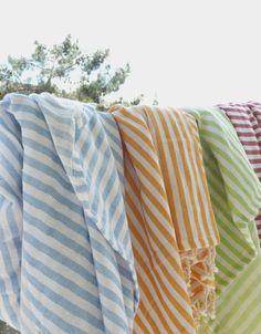 SALE Set of 2 Turkish Towel Peshtemal Beach towel by TheAnatolian, $46.00