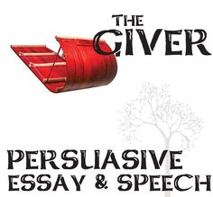 the giver persuasive essay