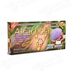 Ampolletas de Alcachofa GN+Vida las Originales Alcachofa Ampolletas. La Mejor Dieta de Alcachofa Liquida Ahora en USA!