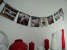 80's Party Decoration Mini 80's Album Covers Bunting