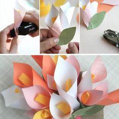 Papierblumen sind toll