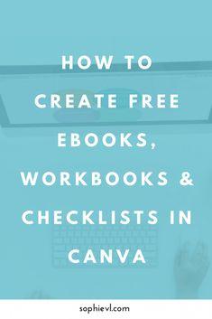 How to create ebook pdf