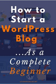 Are you looking for ways to make money online? Then why not start a blog? Click here to discover how to start a WordPress blog the right way.