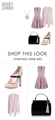 """""""Church Mode"""" by nadia-n-pow ❤ liked on Polyvore featuring RED Valentino, Burberry and Velvet by Graham & Spencer"""