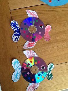 cd art for kids \ cd art _ cd art projects _ cd art diy _ cd art for kids _ cd art aesthetic _ cd artwork cd art _ cd art painting _ cd art sharpie Kids Crafts, Sea Crafts, Diy And Crafts, Paper Crafts, Summer Camp Crafts, Camping Crafts, Art Cd, Cd Diy, Cd Artwork
