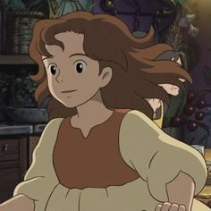 Hayao Miyazaki, Anime Art Girl, Anime Guys, Studio Ghibli Characters, Secret World Of Arrietty, Studio Ghibli Art, Cartoon Profile Pictures, Animation, Cute Anime Pics