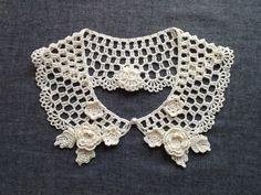 レース編み*付け襟 - ミチコ*