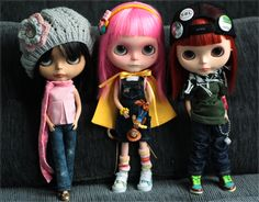 Blythe Dolls//Each one is unique...SO MANY!!! I will own one one day....