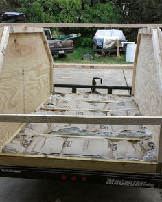 Many DIY builders forget the important of insulating their campers.