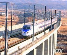 High - speed train KTX Jeolla (Yongsan, Seoul ~ Iksan to Yeosu Expo) opening service - October 5, 2011