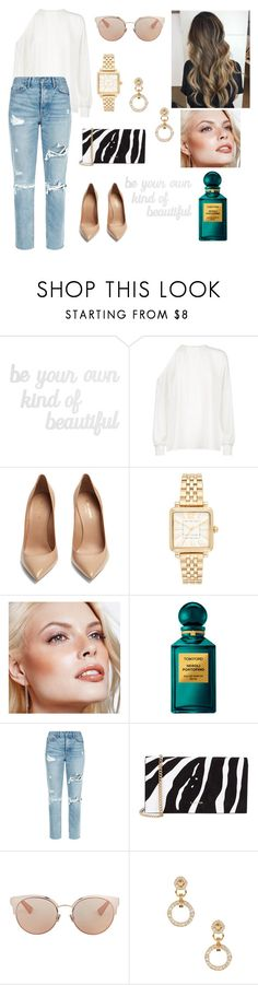 """Babe"" by alinakraynya ❤ liked on Polyvore featuring PBteen, TIBI, Yves Saint Laurent, Marc Jacobs, Avon, Tom Ford, GRLFRND, Lanvin, Christian Dior and Versace"