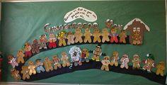 gingerbread man display
