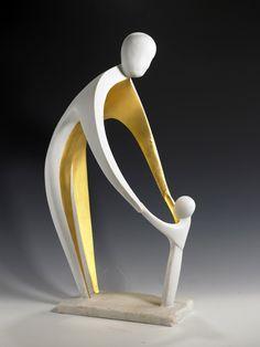 artig! Scale Art, Sculpture Clay, Metal Art, Pottery Sculpture, Ceramic Sculpture, Wood Sculpture, Wood Art, Ceramics, Modern Sculpture