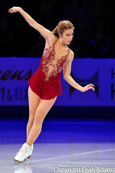 Ashley Wagner - Exhibition to Young & Beautiful by Lana Del Rey