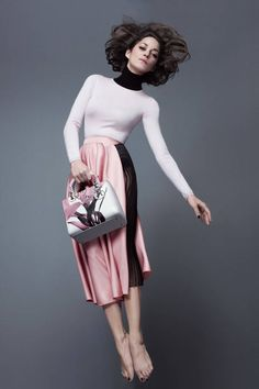 Marion Cotillard stars in the new Lady Dior campaign.
