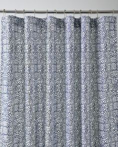 Comes In Pale Sage Signature Wrinkle Resistant Arabesque Sateen Shower Curtain