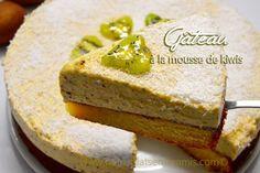 Gâteau à la mousse de kiwis