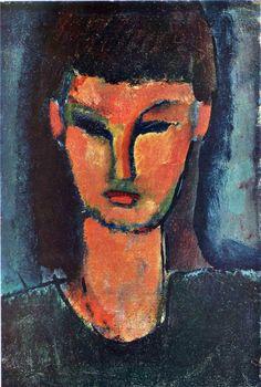 Amedeo Modigliani ~ Young Woman, 1910