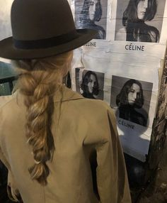 Look Boho, Good Hair Day, Looks Style, Mode Outfits, Pretty Hairstyles, Braided Hairstyles, Hair Goals, Celine, Her Hair