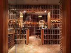 Now that's what I call a wine cellar!!! 3377 Pacific Avenue is an elegantly understated residence masterfully blending tradition with modern enhancements. This home on the Presidio Wall looks out to Julius Kahn playground and the Presidio. Meticulously maintained home designed by Hearst Castle architect, Julia Morgan. Distinctive vintage details create a classic and timeless interior. #zillow