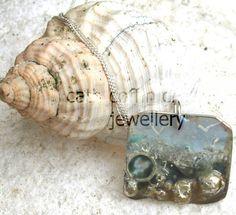 Sterling silver Coastal pendant ,