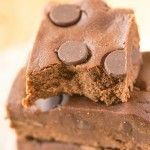 No Bake Death By Chocolate Protein Bars