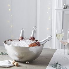 Oval Champagne Trug | The White Company