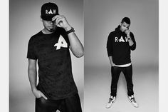 Black on Black #Afrojack x #G-Star #whatdjswear #streetstyle