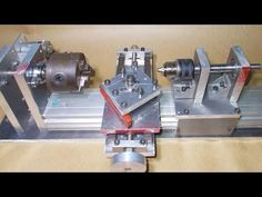Homemade Wood Metal Mini Mill Lathe DIY Milling Router CNC Machine Spind...