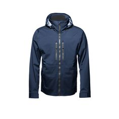 men's altitude jacket blue front