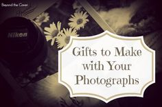 Are you looking for ways to use your photographs for something special? Turn your photographs into gifts with these ideas! | www.beyondtheco...