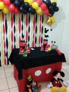 Decoração de Mickey